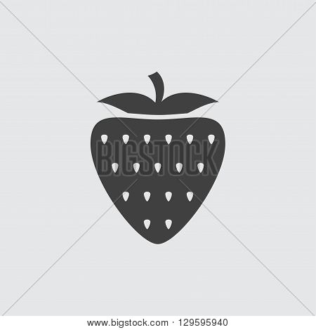 Strawberry icon illustration isolated vector sign symbol