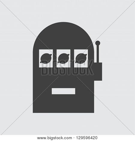 Slot machine icon illustration isolated vector sign symbol