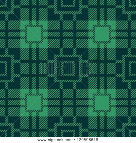 Seamless Tartan Pattern. Lumberjack Flannel Shirt Inspired. Seamless Tiles. Trendy Hipster Style Backgrounds. Vector File's Pattern Swatches