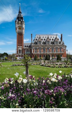 The Hotel De Ville (Town Hall) Calais France built 1911 to 1925