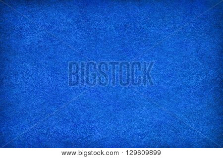 Abstract blue background based on felt texture