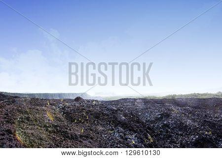 Piton De La Fournaise Volcano, Reunion Island, France