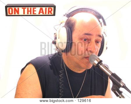 Bald Radio DJ
