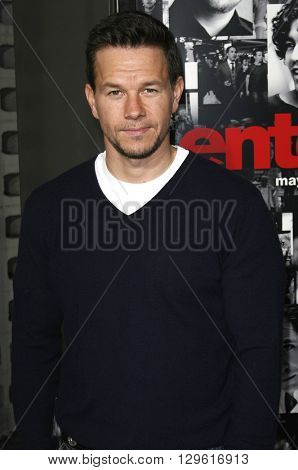 Mark Wahlberg at the season 3 premiere of HBO's 'Entourage' held at the Cinerama Dome in Hollywood, USA on April 5, 2007.