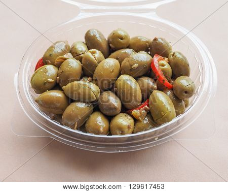 Green Olives Vegetables