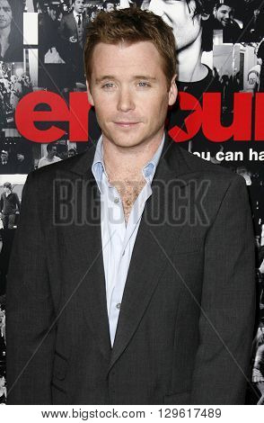 Kevin Connolly at the season 3 premiere of HBO's 'Entourage' held at the Cinerama Dome in Hollywood, USA on April 5, 2007.