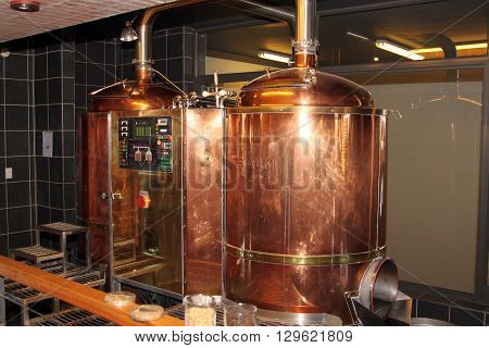 Modern Craft Automated Copper Beer Brew Kettle