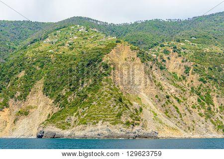 Portovenere (Cinque terre) - scenic Ligurian coast, Italy