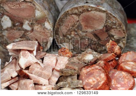 Pig Brawn And Other Meat