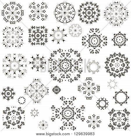 set of 30 ethnic patterns, ethnic element, ethnic pattern, ethnic tattoo, ethnic, ethnic vector, ethnic art, ethnic image, ethnic illustration, ethnic design, drawing ethnic, black and white pattern