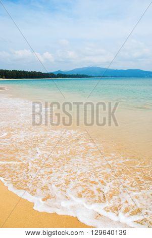 Coast Andaman Sea Island Phuket Sand Beach