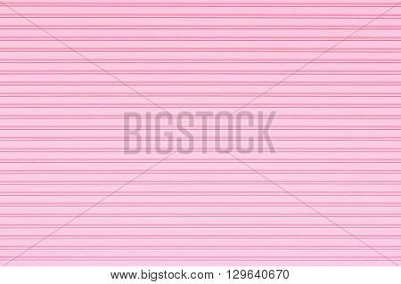 corrugated metal door background and texture surface.