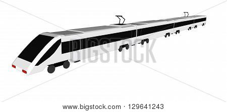 Vector  subway train isolated, subway train flat, subway train 3d, subway train transport, subway
