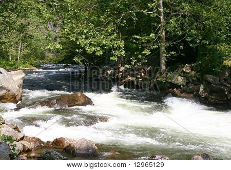 Nantahala River In North Carolina