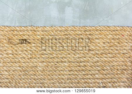 Natural Rope Background.