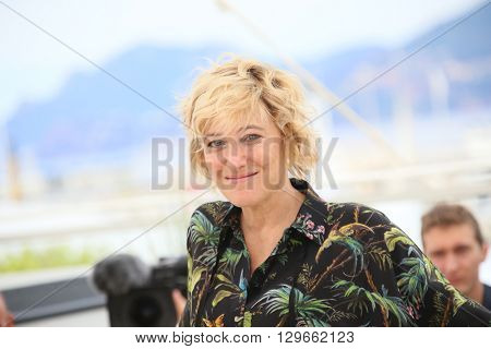 Bruni Tedeschi attends the 'Slack Bay' (Ma Loute) Photocall during the 69th annual Cannes Film Festival at the Palais des Festivals on May 13, 2016 in Cannes, France.