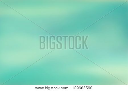 Blue blurred background. Colorful defocused scenic background. Soft colored gradient backdrop. Abstract blurry vector illustration