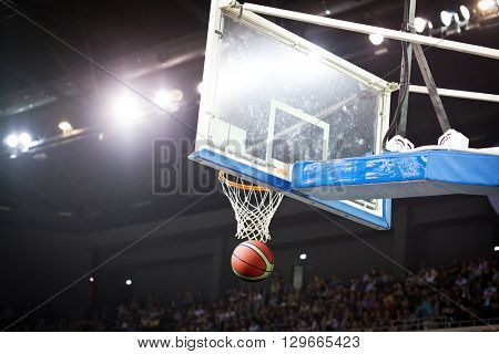 Ball in hoop
