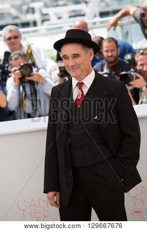 Mark Rylance at the photocall for 'The BFG (Le Bon Gros Geant - Le BGG)' , at the 69th Festival de Cannes.