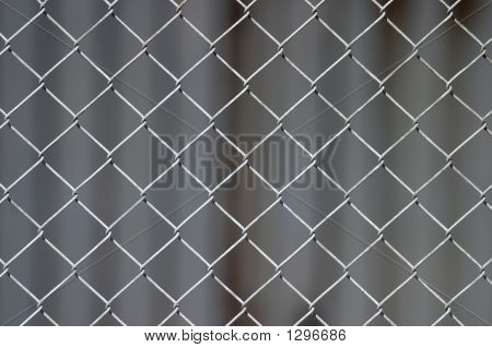 Chicken-Wire Background (Selective Focus)