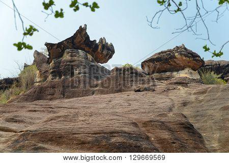 Phu Pha Thoep national park Mukdahan Thailand