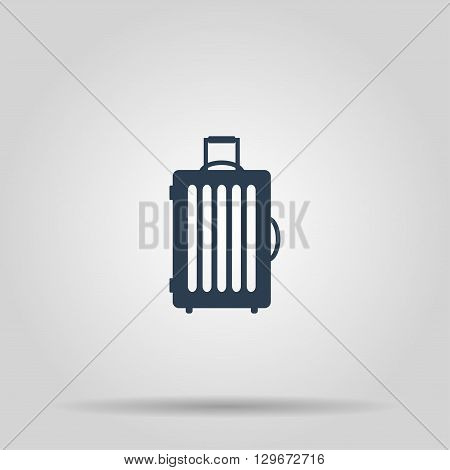 travel bag icon. Vector concept illustration for design.