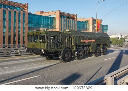 Mobile Short-range Ballistic Missile Iskander