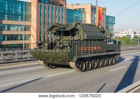 All-weather Low To Medium Altitude, Short-range Missile System Tor-m2U