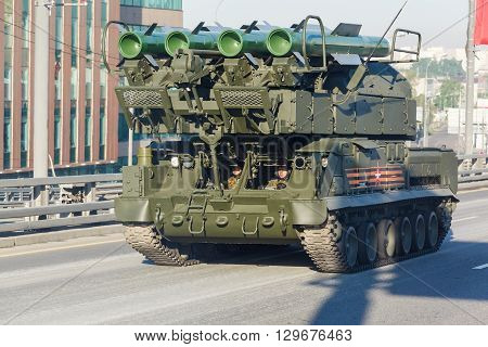 All-weather Air Defense Missile System Buk-m2