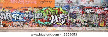 graffiti big panorama