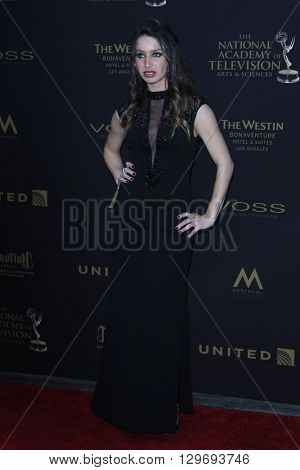 LOS ANGELES - APR 29: Celeste Fianna at The 43rd Daytime Creative Arts Emmy Awards at the Westin Bonaventure Hotel on April 29, 2016 in Los Angeles, CA