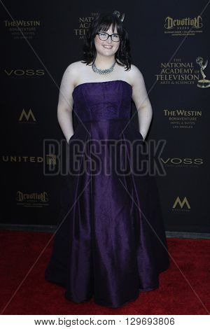 LOS ANGELES - APR 29: Allison McDaniel at The 43rd Daytime Creative Arts Emmy Awards at the Westin Bonaventure Hotel on April 29, 2016 in Los Angeles, CA