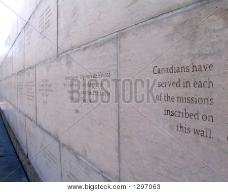 Canadians Inscribed