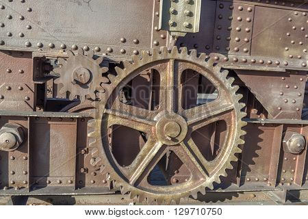 Copper Colored Gears