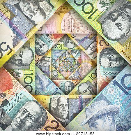 Australian Dollar Background