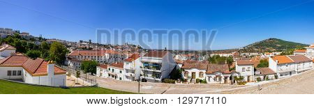 Panoramic view of Portalegre city, in Portugal