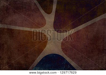 Sixties Or Seventies Decoration Background