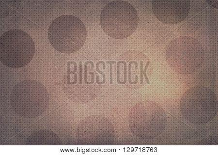 Brown Dots Texture