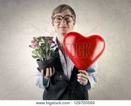 In love nerd