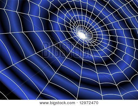 buraco escuro com aranha líquido