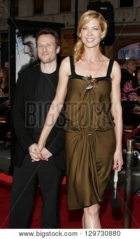 Bodhi Elfman and Jenna Elfman at the Los Angeles Fan Screening of