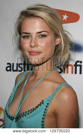 Rachael Taylor at the Australians In Film 2006 Breakthrough Awards held at the Avalon Hotel in Beverly Hills, USA on May 11, 2006.