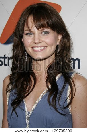 Jennifer Morrison at the Australians In Film 2006 Breakthrough Awards held at the Avalon Hotel in Beverly Hills, USA on May 11, 2006.