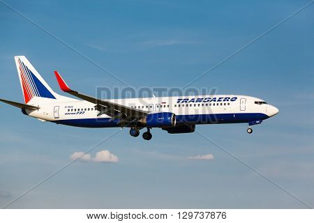 Boeing 737 Take Off From Runway