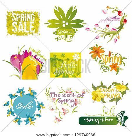 Ten mnemonics on the concept of Spring season