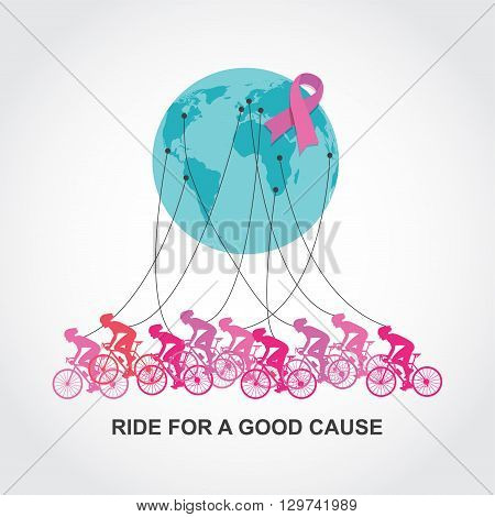 cancer awareness   cycling race or competition. ride for a good cause and charity