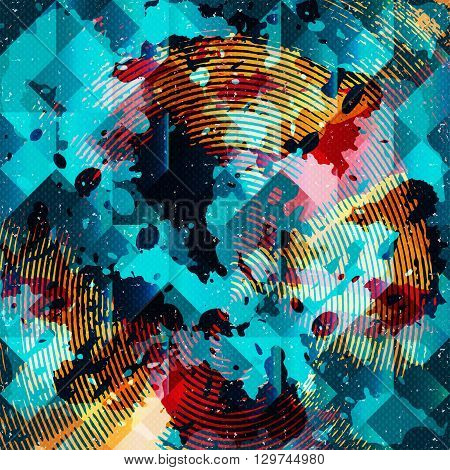grunge texture background graffiti vector illustration abstract high quality