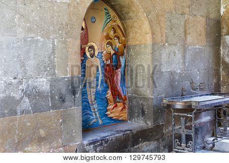 Echmiadzin, Armenia - May 02, 2016: Etchmiadzin Monastery