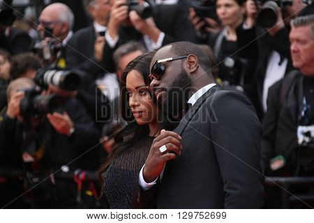 Maitre Gims, Dem Dem attends 'The BFG' premier during the 69th Annual Cannes Film Festival on May 14, 2016 in Cannes.