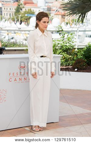 Riley Keough   during the 'American Honey' photocall  at the 69th Festival de Cannes. May 15, 2016  Cannes, France